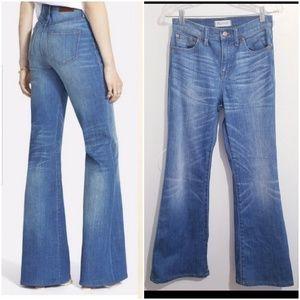 Madewell  flea market flare jeans short